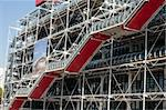 The building of Pompidou center in Paris, France Stock Photo - Royalty-Free, Artist: lindom                        , Code: 400-04348804