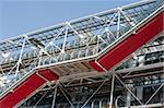 The building of Pompidou center in Paris, France Stock Photo - Royalty-Free, Artist: lindom                        , Code: 400-04348805
