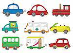 cartoon car icon Stock Photo - Royalty-Free, Artist: notkoo2008                    , Code: 400-04351458
