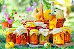 autumn preserves Stock Photo - Royalty-Free, Artist: jordache                      , Code: 400-04351647