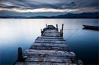 jetty sunrise Stock Photo - Royalty-Freenull, Code: 400-04357037