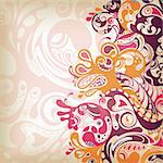 Illustration of abstract scrolls background. Stock Photo - Royalty-Free, Artist: billyphoto2008                , Code: 400-04358191