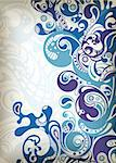 Illustration of abstract scrolls background. Stock Photo - Royalty-Free, Artist: billyphoto2008                , Code: 400-04358193