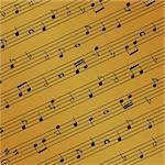 Musical notes on the sheet Stock Photo - Royalty-Free, Artist: soleilc                       , Code: 400-04359623