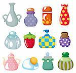 cartoon bottle icon Stock Photo - Royalty-Free, Artist: notkoo2008                    , Code: 400-04361493