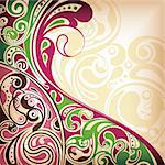 Illustration of abstract curve background. Stock Photo - Royalty-Free, Artist: billyphoto2008                , Code: 400-04362409