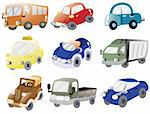 cartoon car icon Stock Photo - Royalty-Free, Artist: notkoo2008                    , Code: 400-04364846