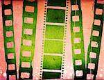 Great film strip for textures and backgrounds frame Stock Photo - Royalty-Free, Artist: ilolab                        , Code: 400-04364967