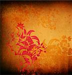asia style textures and backgrounds Stock Photo - Royalty-Free, Artist: ilolab                        , Code: 400-04368453