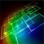 Internet concept, communication, technology-style background. Abstract illustration for design