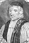 William Beveridge (1637-1708) on engraving from the 1700s. English Bishop of St Asaph. Engraved by B.Ferrers. Stock Photo - Royalty-Free, Artist: Georgios                      , Code: 400-04370276