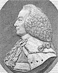 William Murray, 1st Earl of Mansfield (1705-1793) on engraving from the 1800s. British barrister, politician and judge noted for his reform of English law. Stock Photo - Royalty-Free, Artist: Georgios                      , Code: 400-04370280
