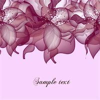 flores - Greeting card in grunge or retro style. Design congratulation christmas vector Stock Photo - Royalty-Freenull, Code: 400-04370615