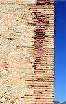 bricks corner detail in masonry wall ancient monastery architecture Stock Photo - Royalty-Free, Artist: lunamarina                    , Code: 400-04370997