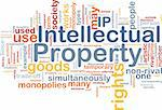 Background concept wordcloud illustration of intellectual property Stock Photo - Royalty-Free, Artist: kgtoh, Code: 400-04371430