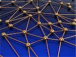 abstract 3d illustration of network structure Stock Photo - Royalty-Free, Artist: madmaxer                      , Code: 400-04372546