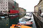Canal grande and Port in the city, Trieste, Italia Stock Photo - Royalty-Free, Artist: vladacanon                    , Code: 400-04379239