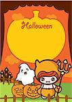 Illustration of Halloween Holiday Series. Stock Photo - Royalty-Free, Artist: Kahimm2010                    , Code: 400-04388412