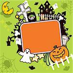 Illustration of Halloween Holiday Series. Stock Photo - Royalty-Free, Artist: Kahimm2010                    , Code: 400-04388413