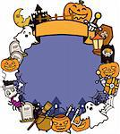 Illustration of Halloween Holiday Series. Stock Photo - Royalty-Free, Artist: Kahimm2010                    , Code: 400-04388415
