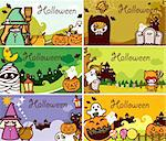 Illustration of Halloween Holiday Series. Stock Photo - Royalty-Free, Artist: Kahimm2010                    , Code: 400-04388423