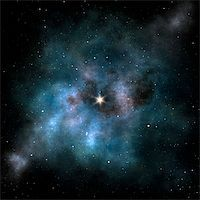 An image of a stylish stars background Stock Photo - Royalty-Freenull, Code: 400-04392692