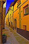 Siesta In The Typical Medieval Spanish City Stock Photo - Royalty-Free, Artist: gkuna                         , Code: 400-04393117