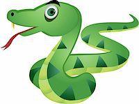 snake skin - Snake cartoon Stock Photo - Royalty-Freenull, Code: 400-04394359