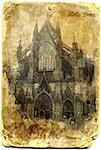 Cathedral of saint peter and maria in Cologne, Germany Stock Photo - Royalty-Free, Artist: nikipap                       , Code: 400-04394963