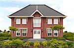 New large house in Almere, the Netherlands   Stock Photo - Royalty-Free, Artist: erikdegraaf                   , Code: 400-04398420