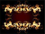 ornate frame, this illustration may be useful as designer work