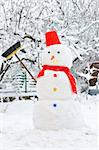 snowman Stock Photo - Royalty-Free, Artist: jordache                      , Code: 400-04406992