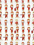 cartoon Fireman seamless pattern   Stock Photo - Royalty-Free, Artist: notkoo2008                    , Code: 400-04407149