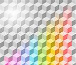 Abstract vector rainbow background. Eps 10 Stock Photo - Royalty-Free, Artist: antuanetto                    , Code: 400-04407311