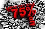 conceptual banner for the labor day sale Stock Photo - Royalty-Free, Artist: tashatuvango                  , Code: 400-04413027