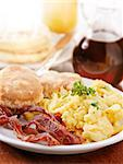 bright huge breakfast Stock Photo - Royalty-Free, Artist: hojo                          , Code: 400-04414141