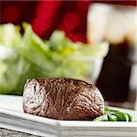 festive steak dinner Stock Photo - Royalty-Free, Artist: hojo                          , Code: 400-04414199