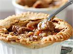 Beef pot pie closeup Stock Photo - Royalty-Free, Artist: hojo                          , Code: 400-04414231