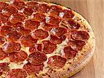 pepperoni pizza Stock Photo - Royalty-Free, Artist: hojo                          , Code: 400-04414269