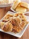 fried chicken meal Stock Photo - Royalty-Free, Artist: hojo                          , Code: 400-04414279