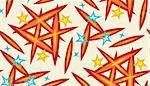Stars and sparks inside a seamless background wallpaper pattern Stock Photo - Royalty-Free, Artist: theblackrhino                 , Code: 400-04415696