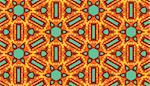 Arabic style seamless kaleidoscope wallpaper pattern in warm tones Stock Photo - Royalty-Free, Artist: theblackrhino                 , Code: 400-04416929