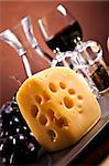 Cheese Stock Photo - Royalty-Free, Artist: JanPietruszka                 , Code: 400-04417173