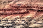 Painted Hills John Days Fossil Beds Oregon Closeup Abstract Stock Photo - Royalty-Free, Artist: Davidgn                       , Code: 400-04421739