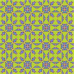 Colliding triangles in blue and purple in a seamless wallpaper pattern Stock Photo - Royalty-Free, Artist: theblackrhino                 , Code: 400-04421757