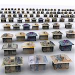 Money City - 3D Max Render Stock Photo - Royalty-Free, Artist: Atanas_Bozhikov               , Code: 400-04424446