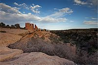 prehistoric - Hovenweep Castle, Little Ruin Canyon, Hovenweep National Monument, Utah, USA Stock Photo - Premium Royalty-Freenull, Code: 600-04425050