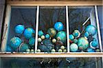 Faded Globes in House Window Stock Photo - Premium Rights-Managed, Artist: Ben Seelt, Code: 700-04425035