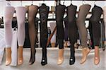 Stockings Displayed on Mannequin Legs in Market Stock Photo - Premium Rights-Managed, Artist: Ben Seelt, Code: 700-04425037