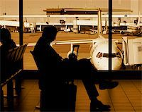 at the airport Stock Photo - Royalty-Freenull, Code: 400-04437264
